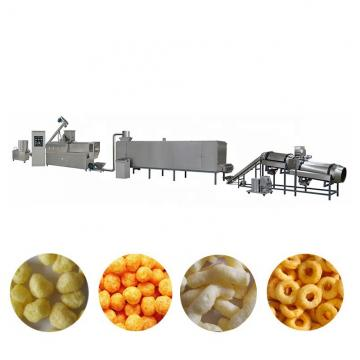 Popular and Good Taste Automatic Double Screw Corn Flour Inflating Snacks Extruder for Sale